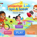 Language Lab: Spin & Speak – Social Skills ((APP REVIEW!!))