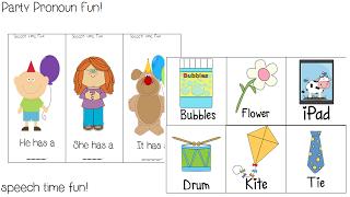 BHSM: Party Pronoun Fun! ((FREEBIE)) & Giveaway!!!