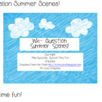 Wh- Question Summer Scenes!
