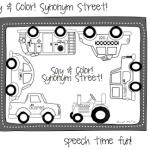 BHSM: Say & Color! Synonym Street! ((Freebie & Giveaway!!))