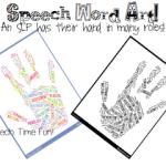 BSHM: Speech Word Art!! ((FREEBIE))!! & giveaway!!