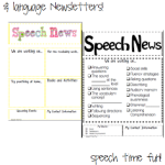 Speech & Language Newsletters!