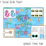 Summer Social Skills Pack!