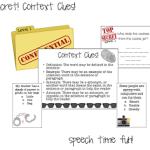 Top Secret!  Context Clues Fun! ((and giveaway!!))