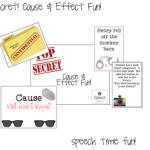 Top Secret: Cause & Effect Fun!