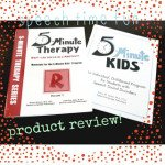 5-Minute Kids Therapy Program!!  ((Product Review!))