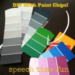 DIY with Paint Chips!