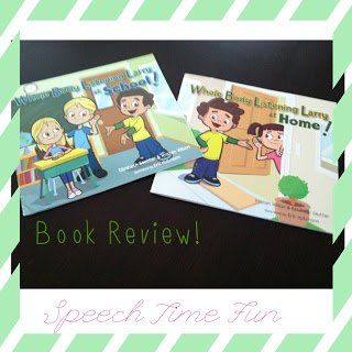 Whole Body Listening Larry Books! ((product review!!))