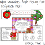 Expanding Vocabulary Apple Picking Fun!! ((EET Companion Pack!!))