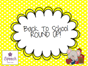 Back To School ROUND UP!