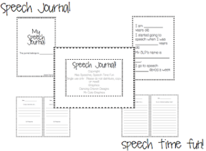 Speech Journals!