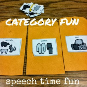 Category Fun! (fun ideas from my speech room to yours!)