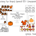 Fall Describing Fun Board Games (EET Companion)
