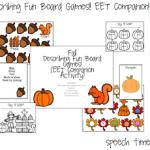 Fall Describing Fun Board Games (EET Companion)
