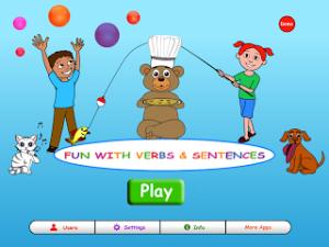 Fun With Verbs & Sentences (App Review!)