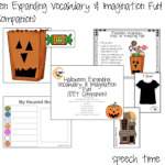 Halloween Expanding Vocabulary & Imagination Fun! (EET Companion)
