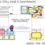 Monsters Story Recall & Comprehension