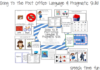 Going To A Post Office: Language & Pragmatic Skills!!  (AND GIVEAWAY!)