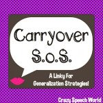 Carryover S.O.S. LINKY!