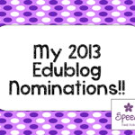 My 2013 Edublog Nominations!