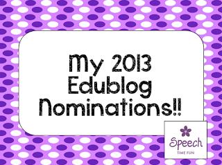 My 2013 Edublog Nominations!