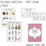 Answering Basic Questions – With Visuals! VARIETY PACK!