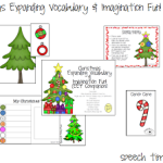 Christmas Expanding Vocabulary & Imagination Fun!!