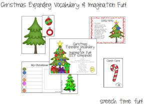 Christmas Expanding Vocabulary & Imagination Fun!!