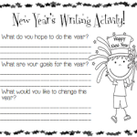 New Year's Writing Activity! (FREEBIE)
