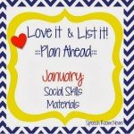 Love It & List It: Social Skills! (Linky Party)