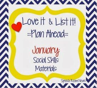 Love It & List It: Social Skills! (Linky Party)