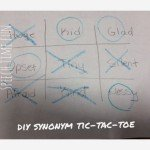 DIY Speech Tic-Tac-Toe