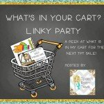 What's In My Cart!? (Linky Party)