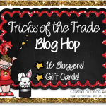 Tricks of the Trade BLOG HOP!