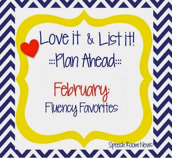 Love It & List It: Fluency Favorites! (Linky Party)