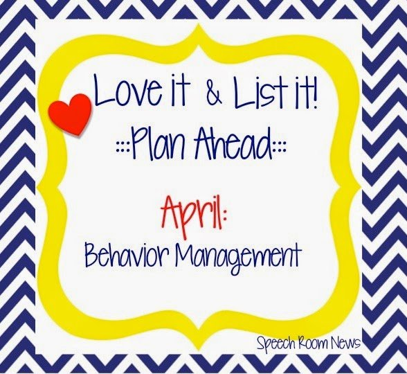 Love It & List It Linky: Behavior Management