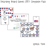Patriotic Describing Board Games (EET Compaion Pack!)