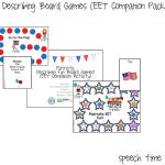 Patriotic Describing Board Games (EET Compaion Pack!)