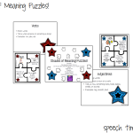 Shades of Meaning Puzzles!