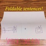 Foldable Sentences! (DIY Idea!)