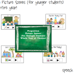 Preposition Scenes For Younger Students! (for the entire year!)
