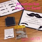 Fun Finds: Mustache Post-Its! (and how I used it in speech therapy!)