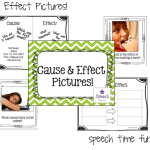 Cause & Effect Pictures! (plus TpT news!)