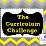 The Curriculum Challenge!