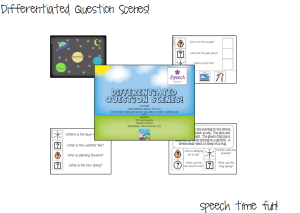 Differentiated Question Scenes!  (and giveaway!!!)