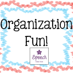 Organization Fun!