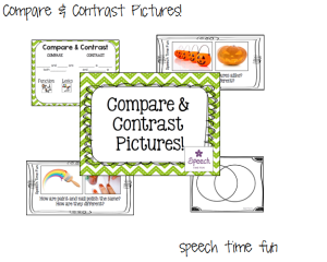 Compare & Contrast Pictures!!