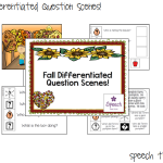 Fall Differentiated Question Scenes!