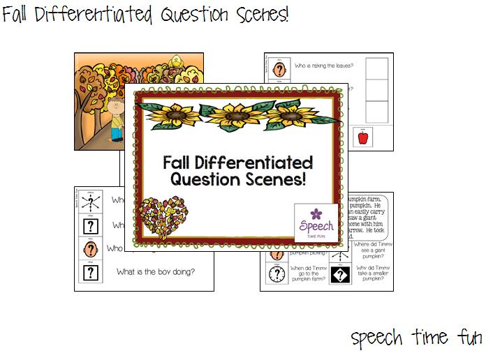 Fall Differentiated Question Scenes!