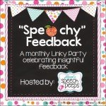My Speechy Feedback! Linky!